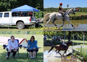 Entry Status and Ride Times – Fair Hill International